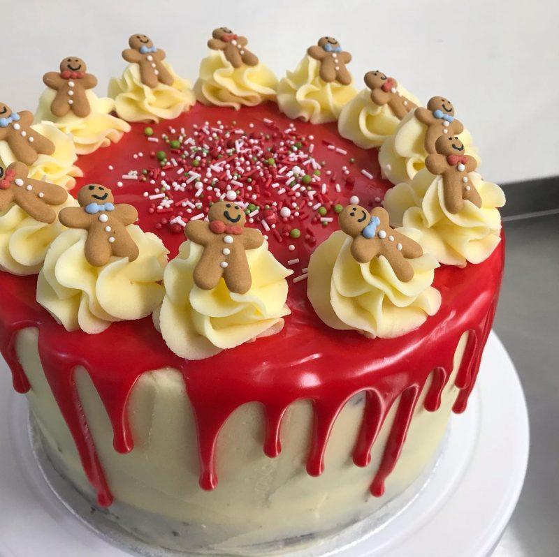 celebration gingerbread cake