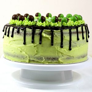 Mint Aero Layer Cake