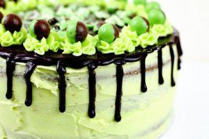 Mint Aero Layer Cake