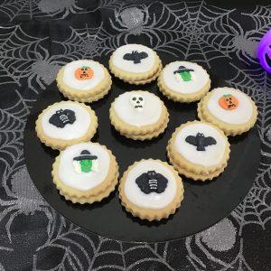 Halloween empire biscuits