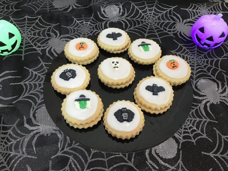Halloween empire biscuits