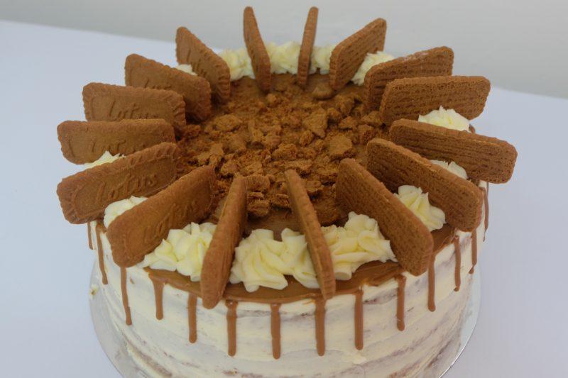 biscoff layer cake